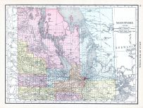 Manitoba, World Atlas 1913